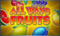 All Ways Fruits Amatic Slot